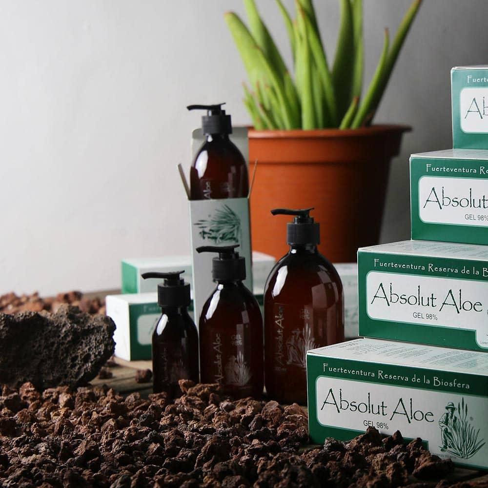 Aloe Vera Gel y Jugo Ecológico Fuerteventura