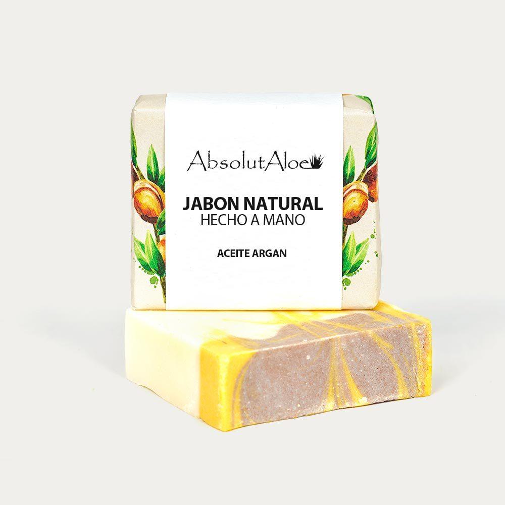 Jabón Natural - Aceite de Argán - AbsolutAloe