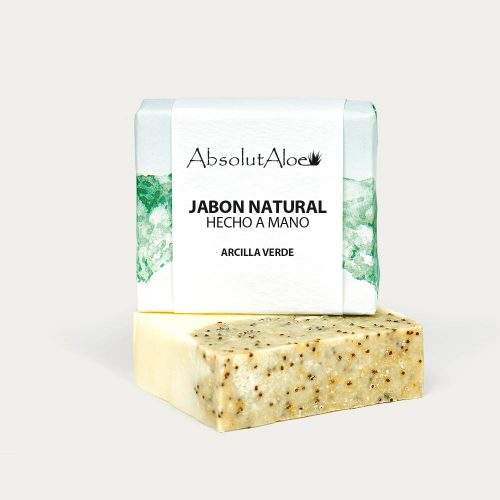 Jabón Natural - Arcilla Verde - AbsolutAloe