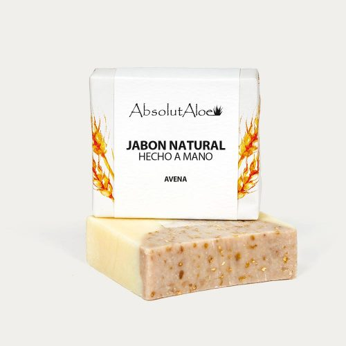 Jabón Natural - Avena - AbsolutAloe