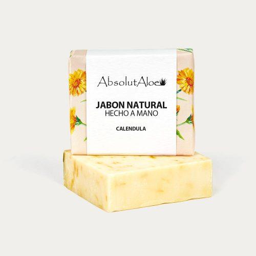 Jabón Natural Hecho a Mano - Caléndula - AbsolutAloe