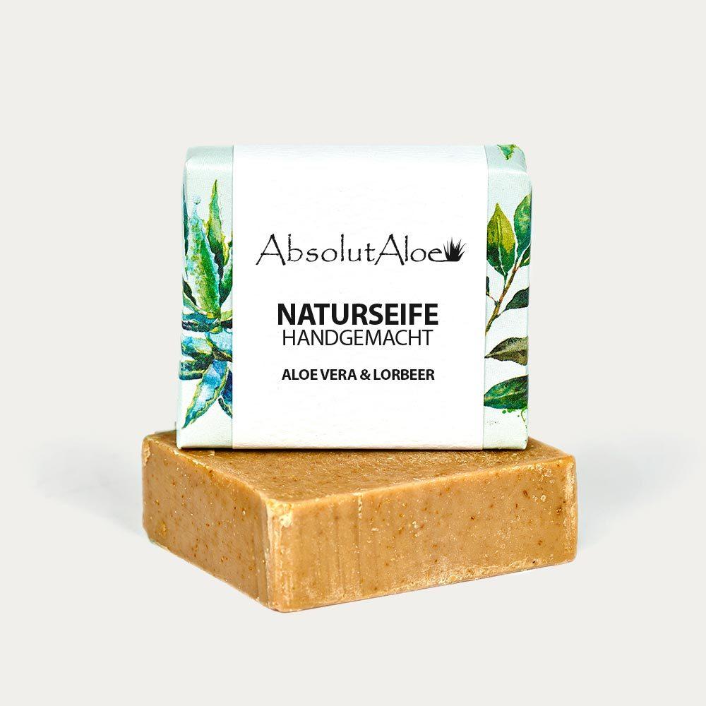 Aloe Vera and Laurel Natural Soap - AbsolutAloe Fuerteventura