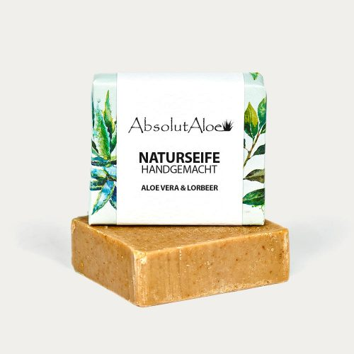 Aloe Vera and Laurel Natural Soap - AbsolutAloe Fuerteventura