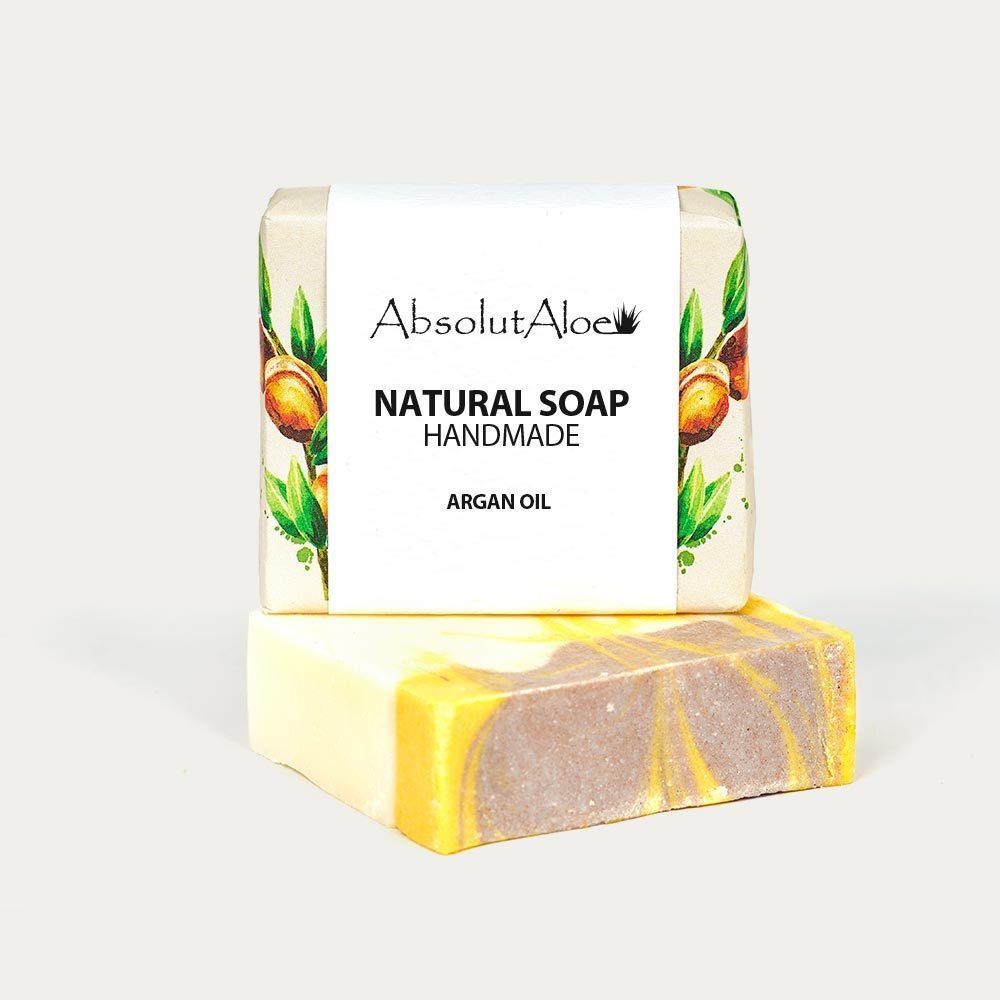 Natural Argan Oil Soap - AbsolutAloe