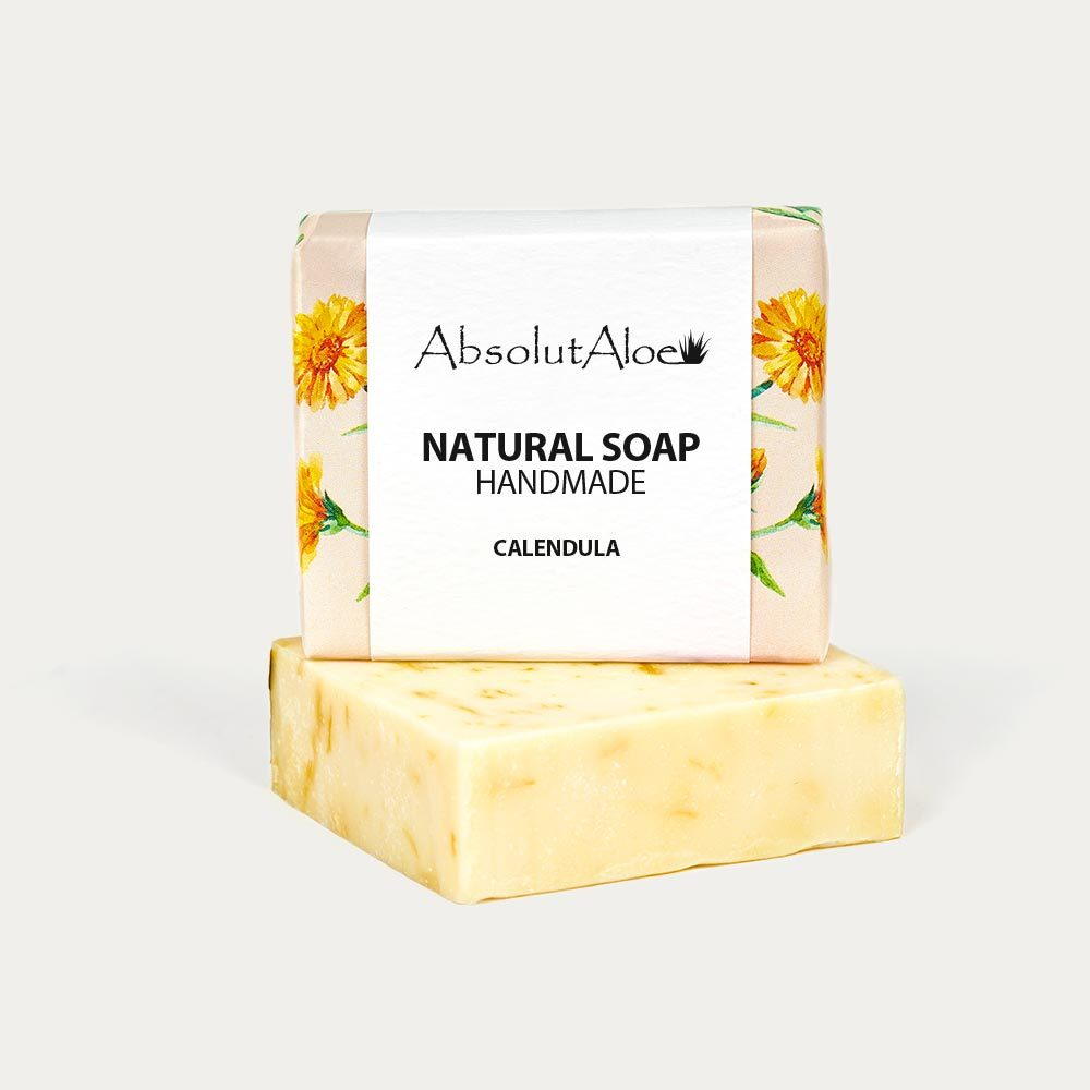 Natural Calendula Soap - AbsolutAloe