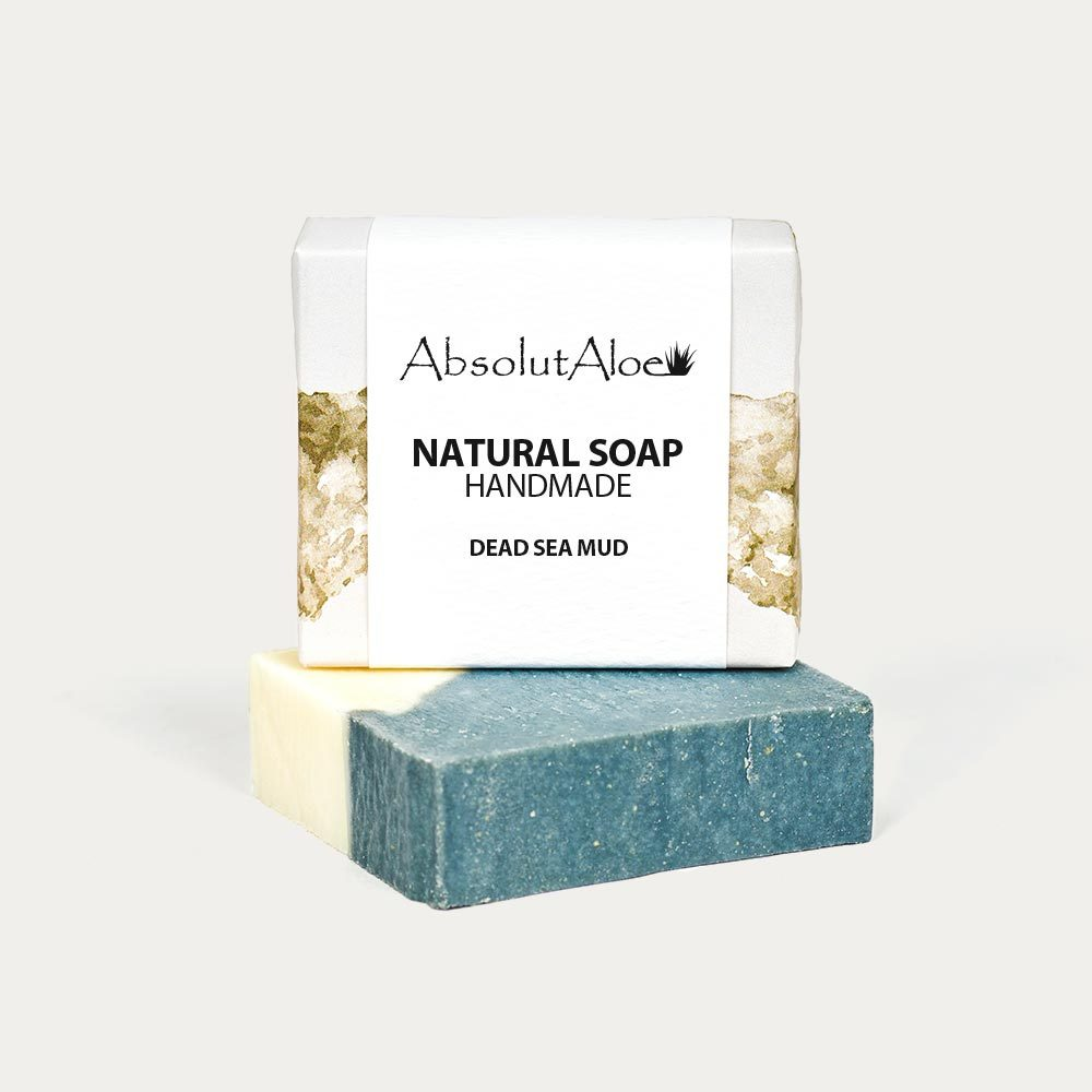 Natural Dead Sea Mud Soap - AbsolutAloe