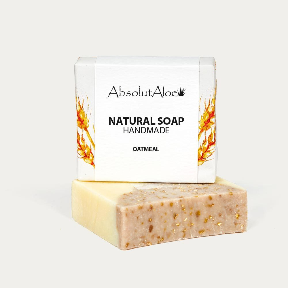 Natural Oatmeal Soap - AbsolutAloe
