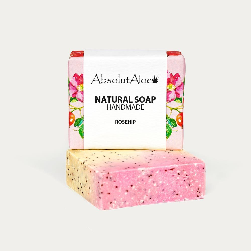 Natural Rosehip Soap - AbsolutAloe