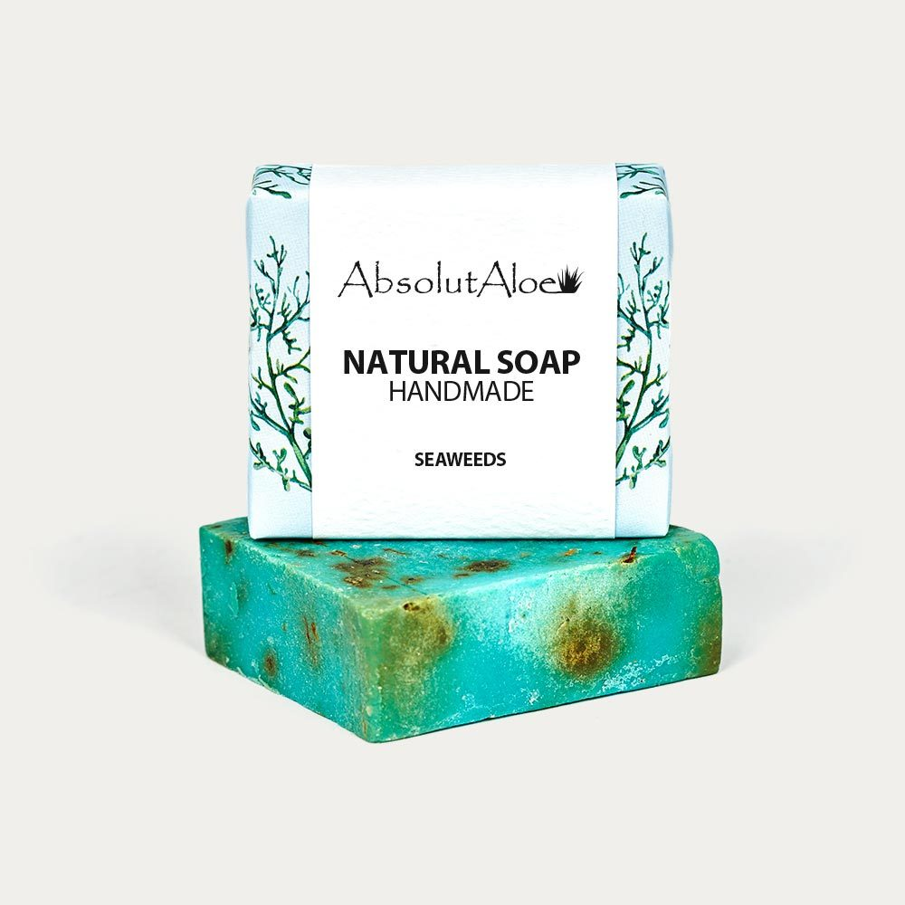 Natural Seaweeds Soap - AbsolutAloe