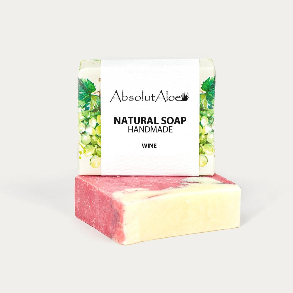 Natural Wine Soap - AbsolutAloe
