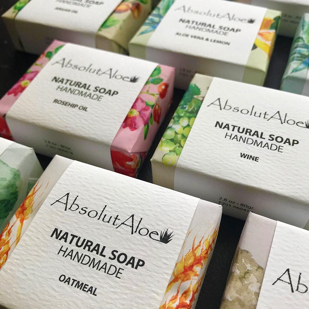 Handmade Natural Soap - AbsolutAloe Fuerteventura