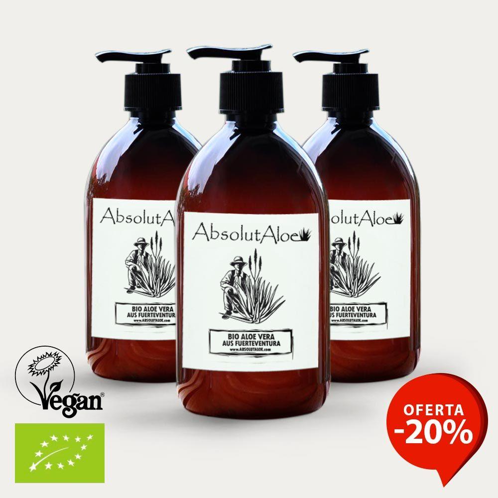 Oferta Gel de Aloe Vera Ecológico 1500ml - AbsolutAloe