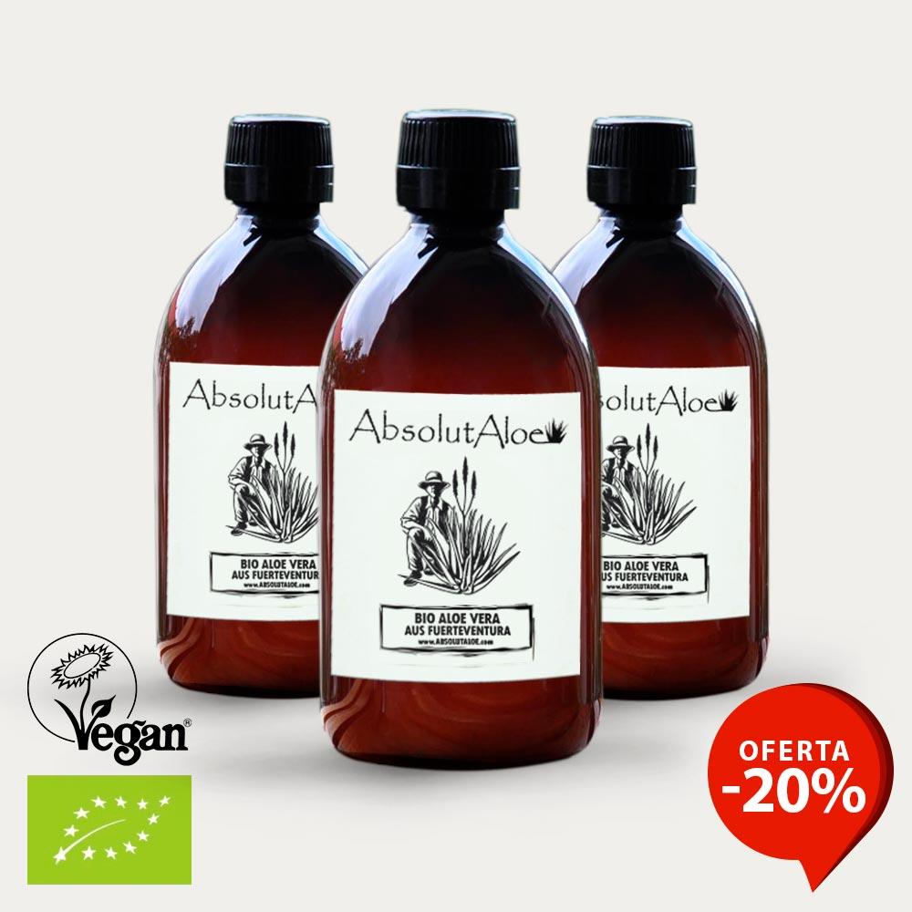 Oferta Jugo de Aloe Vera Ecológico 1500ml - AbsolutAloe