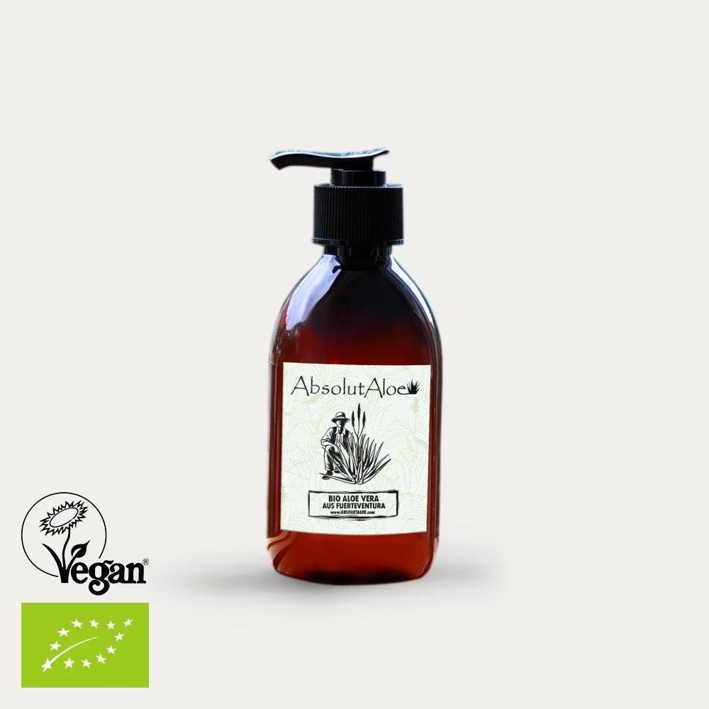 Organic Aloe Vera Gel 250ml - AbsolutAloe