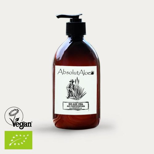 Organic Aloe Vera Gel 500ml - AbsolutAloe