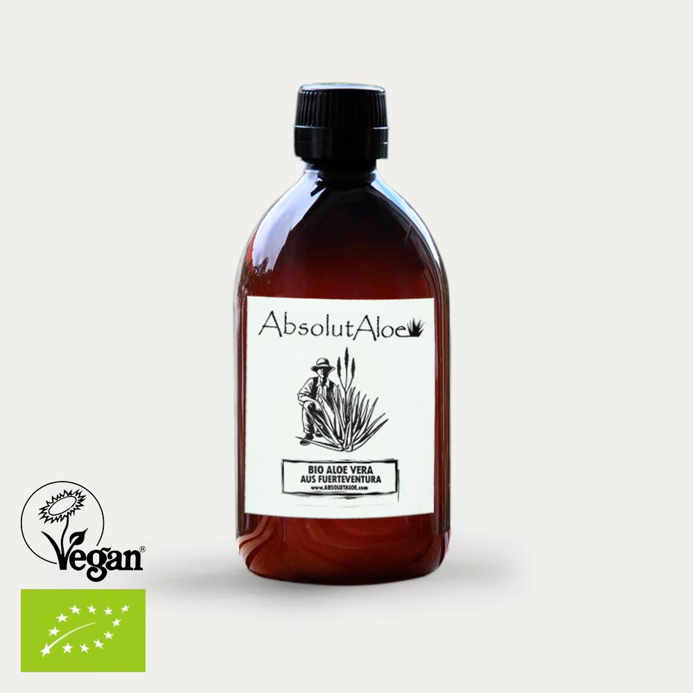 Reiner Aloe Vera Saft 500ml - AbsolutAloe