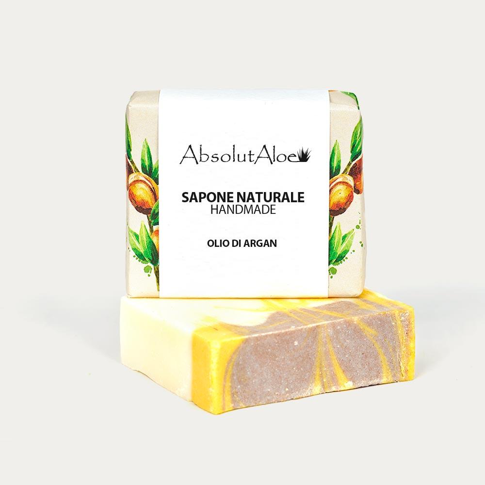 Sapone Naturale - Olio di Argan - AbsolutAloe