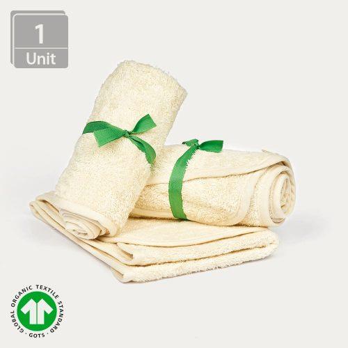 Toalla facial de algodón ecológico - AbsolutAloe